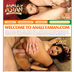 Anally Asian